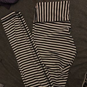 Limited Edition** Striped Lululemon Pants
